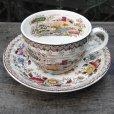 画像1: RIDGWAY tea cup and saucer (1)