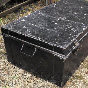 画像2: Old military trunk from England