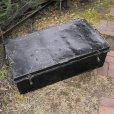 画像1: Old military trunk from England (1)