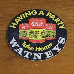 """画像1: Vintage """"Watneys Party Seven"""" beer mat"""