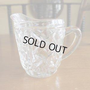 画像2: Glass milk pitcher from England