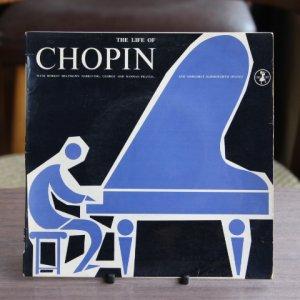 """画像1: """"The Life of Chopin"""" 7 inch record"""