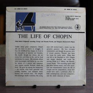 """画像2: """"The Life of Chopin"""" 7 inch record"""