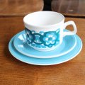 Staffordshire Potteries Ltd tea trio