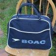 画像2: BOAC vintage travel bag (2)
