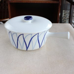 画像1: Lyngby Porcelain vintage single hand pan