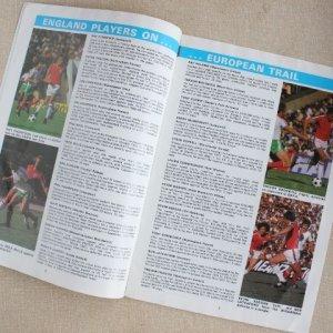 """画像3: Football programme  """"England vs Denmark 1979"""""""