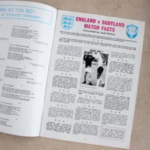 "画像2: Football programme  ""England vs Scotland"" 1973"