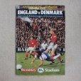 """画像1: Football programme  """"England vs Denmark 1979"""" (1)"""