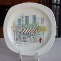 "Midwinter ""Riviera"" cake plate design by Hugh Casson"