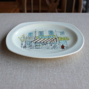 "画像3: Midwinter ""Riviera"" cake plate design by Hugh Casson"