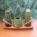 Wade pottery (?) vintage cruet from England