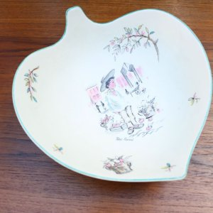 "画像1: Crown Ducal 1950s ""Petit Pierre"" dish"