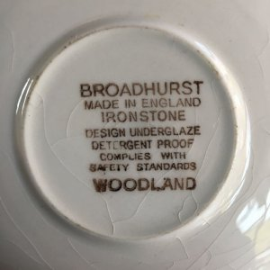 "画像4: Broadhurst ""Woodland"" tea cup and saucer design Kathie Winkle"