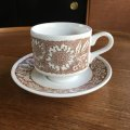 "Broadhurst ""Woodland"" tea cup and saucer design Kathie Winkle"