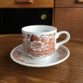 "Broadhurst ""Grosvenor"" tea cup and saucer design Kathie Winkle"