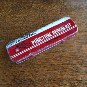 画像1: Proffessional Puncture Repair Kit vintage tin