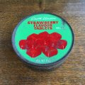 STRAWBERRY FLAVOUR TABLETS vintage tin