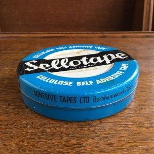 画像2: Vintage Sellotape tin
