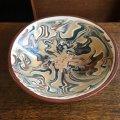 Brackland Pottery slipware dish by Devid Alexander