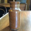 Antique stoneware bottle