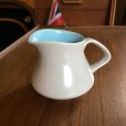 "画像1: Poole Pottery ""Sky Blue and Dove Grey"" small milk pitcher (1)"