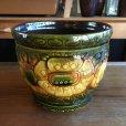 画像1: Vintage plant pot cover from West Germany (1)
