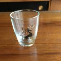 "Vintage ""deer"" glass"