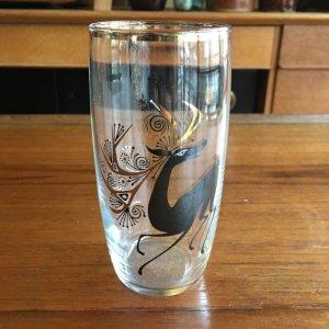 """画像1: Vintage """"deer"""" glass"""