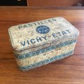 Pastlees Vichy-Etat vintage tin from France