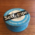 Vintage sellotape tin