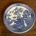 England Ironstone Tableware pin dish blue& white chinoiserie