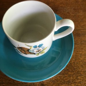 画像2: Midwinter demitasse/coffee cup and saucer