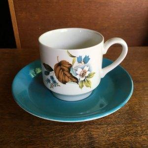 画像1: Midwinter demitasse/coffee cup and saucer