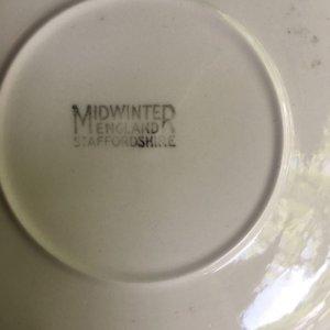 画像4: Midwinter demitasse/coffee cup and saucer