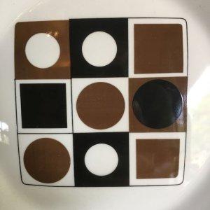 """画像2: Johnson Brothers """"Variations"""" cake plate designed by Barbara Brown"""