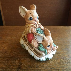 "画像1: Woodlander ""Sledge"" vintage ornament"