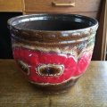 Vintage plant pot cover made in West Germany
