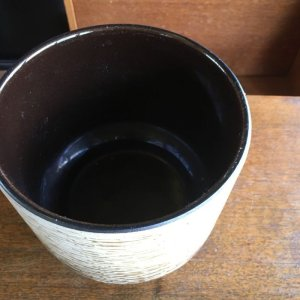画像3: Vintage plant pot cover made in Germany