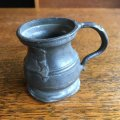 Vintage pewter small cup