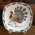 "Midwinter ""Gay Gobbler"" large plate designed by Jessie Tait"