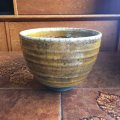 Studio pottery ceramic vintage tea bowl
