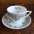 "画像1: Minton ""Maytime"" tea cup and saucer 1956 (1)"