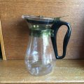 Pyrex glass pitcher