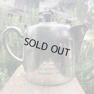 画像1: Silver plate vintage teapot 1948